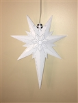 Bethlehem Star Light - White
