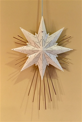 Mini Luxe Star Light - White
