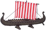 Viking Ship with Sail